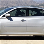 Nissan Altima Painted Body Side Moldings (beveled design), 2019, 2020, 2021
