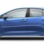 Toyota Corolla Hatchback Painted Body Side Moldings (beveled design), 2019, 2020, 2021