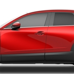 Mazda CX-30 Painted Body Side Moldings (beveled design), 2020, 2021