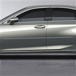 Lexus ES Painted Body Side Moldings (beveled design), 2019, 2020