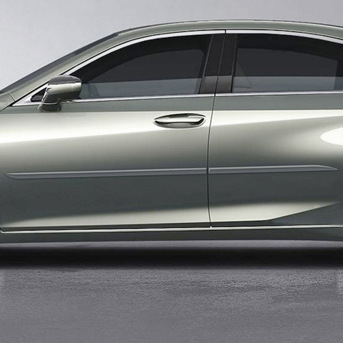 Lexus Es Painted Body Side Moldings Beveled Design 2019 2020 Shopsar Com