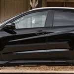 Honda HR-V Painted Body Side Moldings (beveled design), 2016, 2017, 2018, 2019, 2020
