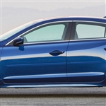 Acura ILX Painted Body Side Moldings, 2013, 2014, 2015, 2016, 2017, 2018, 2019, 2020