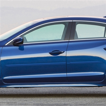 Acura ILX Painted Body Side Moldings, 2013, 2014, 2015, 2016, 2017, 2018, 2019
