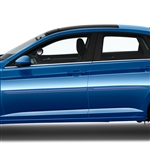 Volkswagen Jetta Painted Body Side Moldings (beveled design), 2019, 2020