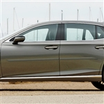 Lexus LS Painted Body Side Moldings (beveled design), 2018, 2019, 2020