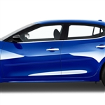 Nissan Maxima Painted Body Side Moldings (beveled design), 2016, 2017, 2018, 2019