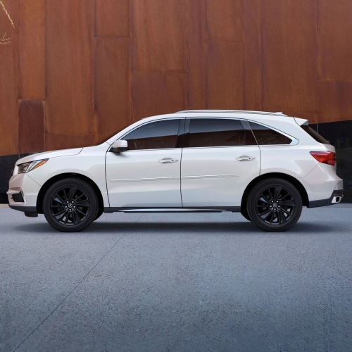 Acura MDX Painted Body Side Molding, 2016, 2017, 2018