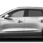 Lincoln MKX Painted Body Side Moldings (beveled design), 2016, 2017, 2018