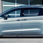 Chrysler Pacifica Painted Body Side Moldings (beveled design), 2017, 2018, 2019, 2020