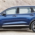 Hyundai Santa Fe Painted Body Side Molding, 2019, 2020