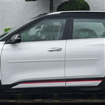Kia Seltos Painted Body Side Moldings, 2021, 2022