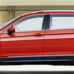 Volkswagen Tiguan Painted Body Side Moldings (beveled design), 2018, 2019, 2020