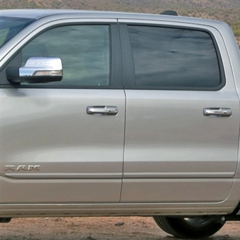 Dodge Ram Painted Body Side Moldings, 2019, 2020