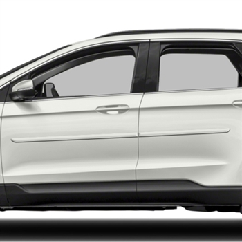 Ford Edge Painted Body Side Moldings, 2015, 2016, 2017, 2018, 2019