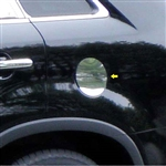Kia Sorento Chrome Trim Fuel Door Overlay, 2011, 2012, 2013, 2014, 2015