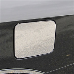 Nissan Versa Sedan Chrome Fuel Door Trim, 2012, 2013, 2014, 2015, 2016, 2017, 2018, 2019