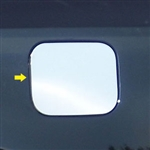 Toyota Avalon Chrome Fuel Door Trim, 2013, 2014, 2015, 2016, 2017, 2018