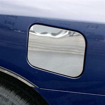 Toyota Highlander Chrome Fuel Door Trim, 2001, 2002, 2003, 2004, 2005, 2006, 2007