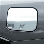 Toyota Highlander Chrome Fuel Door Trim, 2008, 2009, 2010, 2011, 2012, 2013