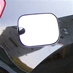 Nissan Rogue Chrome Fuel Door Trim, 2008, 2009, 2010, 2011, 2012, 2013