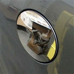 Jaguar XF Chrome Fuel Door Trim, 2009, 2010, 2011, 2012, 2013, 2014