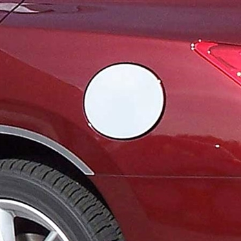 Nissan Maxima Chrome Fuel Door Trim, 2009, 2010, 2011 2012, 2013, 2014