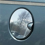 Chrysler Pacifica Chrome Fuel Door Trim, 2004, 2005, 2006, 2007, 2008