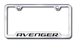 Dodge Avenger Premium Chrome License Plate Frame