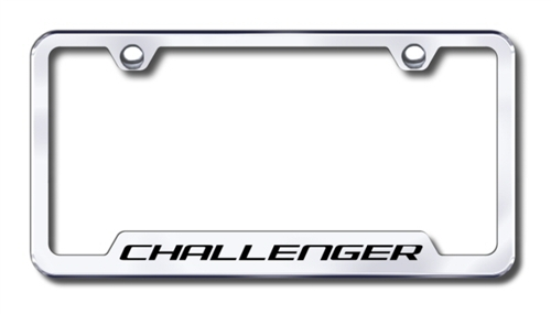 Dodge Challenger Chrome License Plate Frame | ShopSAR.com