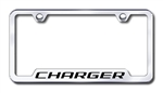 Dodge Charger Premium Chrome License Plate Frame