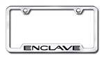 Buick Enclave Premium Chrome License Plate Frame