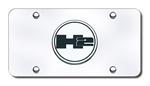 Hummer H2 Logo Chrome License Plate