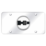 Hummer H3 Logo Chrome License Plate