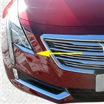 Cadillac CT6 Chrome Headlight Trim, 2016, 2017, 2018
