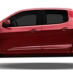 Chevrolet Colorado Painted Body Side Moldings (lower door), 2015, 2016, 2017, 2018, 2019, 2020
