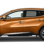 Nissan Murano Painted Body Side Moldings, 2015, 2016, 2017, 2018, 2019, 2020