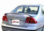 2001-2005 Honda Civic 4dr Painted Rear Spoiler/Wing