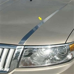 Lincoln MKZ Chrome Hood Accent Trim, 2007, 2008, 2009