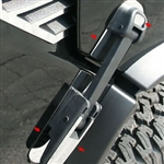 Hummer H2 Stainless Steel Hood Latch Accent Package, 2003, 2004, 2005, 2006, 2007, 2008, 2009
