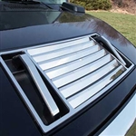 Hummer H2 Stainless Steel Hood Vent Accent Package, 2003, 2004, 2005, 2006, 2007, 2008, 2009