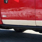 Hummer H3 Chrome Rocker Panel Trim, 2006, 2007, 2008, 2009, 2010