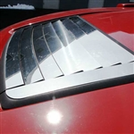 Hummer H3 Chrome Hood Vent Cover, 2006, 2007, 2008, 2009