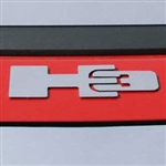 Chrome Hummer H3 Logo