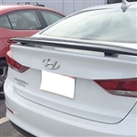 Hyundai Elantra Sedan 2-Post Rear Spoiler, 2017, 2018, 2019
