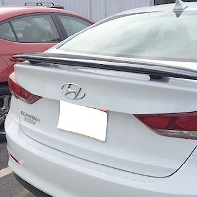 Hyundai Elantra Sedan 2 Post Rear Spoiler 2017 2018 2019 Larger Photo