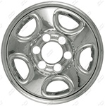 Chevrolet Suburban Chrome Wheel Covers, 2000, 2001, 2002, 2003, 2004
