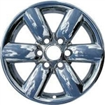 Nissan Titan Chrome Wheel Covers, 4pc. Set, 2008, 2009, 2010, 2011, 2012, 2013, 2014, 2015