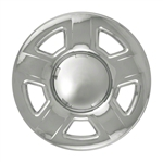 Ford Escape Snap In Chrome Wheel Covers, 4pc. Set,  2001, 2002, 2003, 2004, 2005, 2006