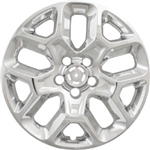 Jeep Renegade Chrome Wheel Covers, 2015, 2016, 2017, 2018, 2019